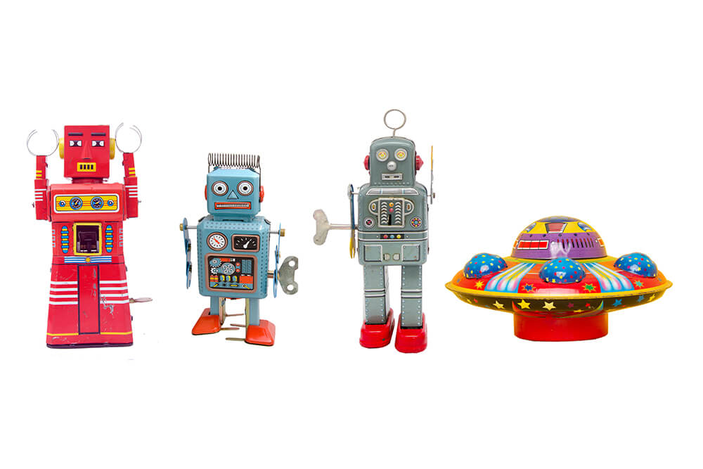 The Cute, The Weird And The Lovely: 7 Of The Kookiest Robots Around