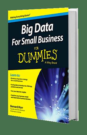 Big Data For Small Business | Bernard Marr