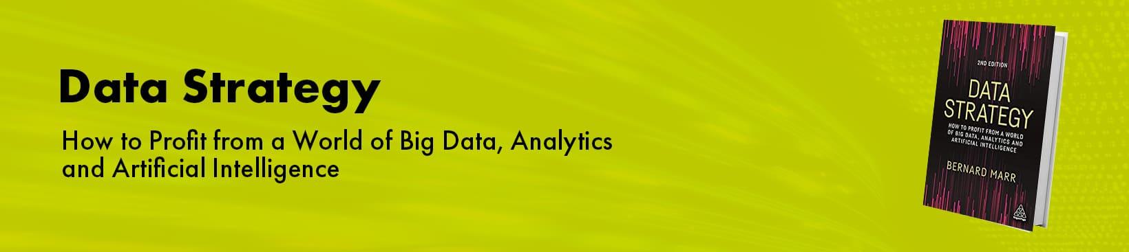 Data Strategy Book | Bernard Marr